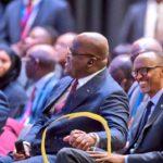 """Félix Tshisekedi au Rwanda: """"Nous veillons à consolider la démocratie pour que l'Homme s'exprime librement"""""""