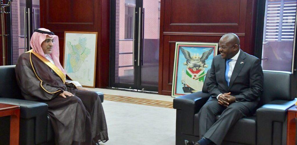 Le Burundi reçoit le Vice Président du Fonds Saoudien pour le Développement