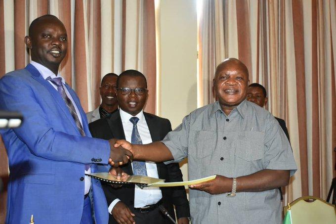 Signature d'un accord de construction d'un chemin de fer reliant la Tanzanie, le Burundi et la RDC