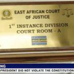 EAC Court of Justice : L'arrêt du 5/5/2015 RCCB 303 de la Cour Constitutionnelle du Burundi ne constitue pas une « décision judiciaire outrageuse ».