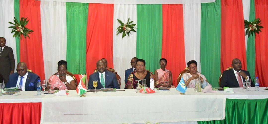 Dernière participation à l'échange de vœux annuel de S.E. NKURUNZIZA Pierre, Chef d'état du Burundi, avec l'armée burundaise.