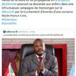 L'Amb Willy NYAMITWE , Conseiller à la Présidence du Burundi, a réagit à un article haineux d'une journaliste Belge