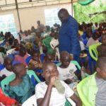 La famille du Président de l'AN partage le repas de Noël avec plus 2000 démunis