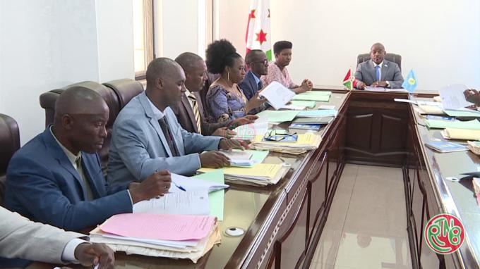 Le Chef de l'Etat préside une réunion du conseil supérieur de la magistrature