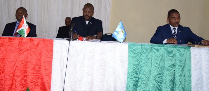 Ngozi : le Chef de l'Etat rencontre les intervenants dans le secteur minier