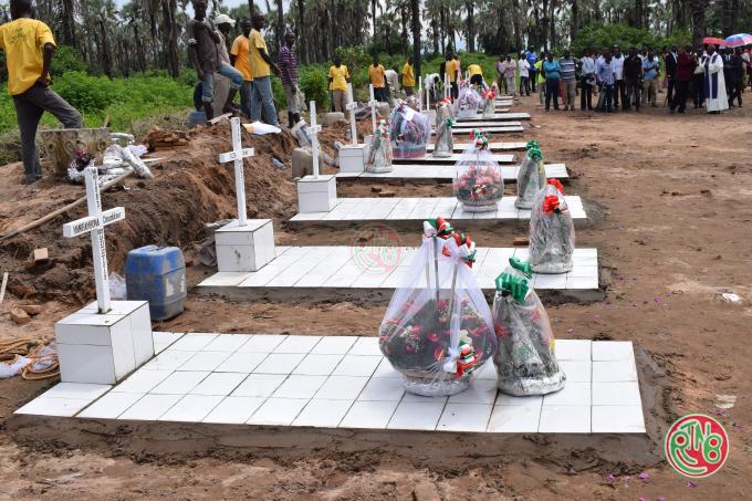Inhumation des victimes des pluies diluviennes au Nord de Bujumbura