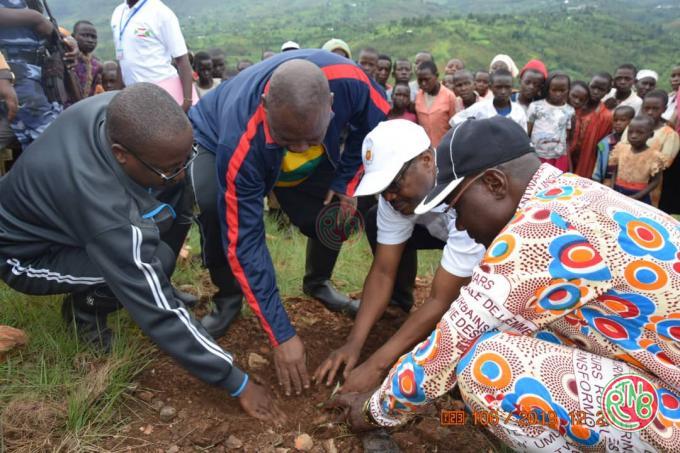 Gitega : Célébration de la journée nationale de l'arbre