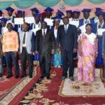 Remise des diplômes aux premiers lauréats de l'ISGD