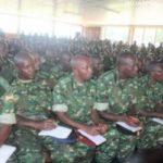 Causerie morale aux militaires du 51ème bataillon AMISOM