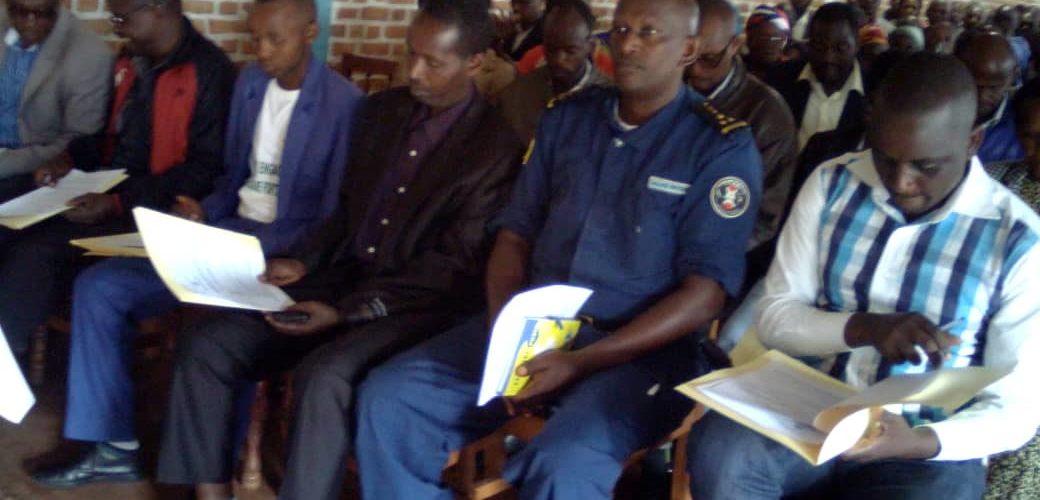 Burundi : Le Conseil National de Sécurité échange à Mwaro sur les meilleurs pratiques pendant la période électorale
