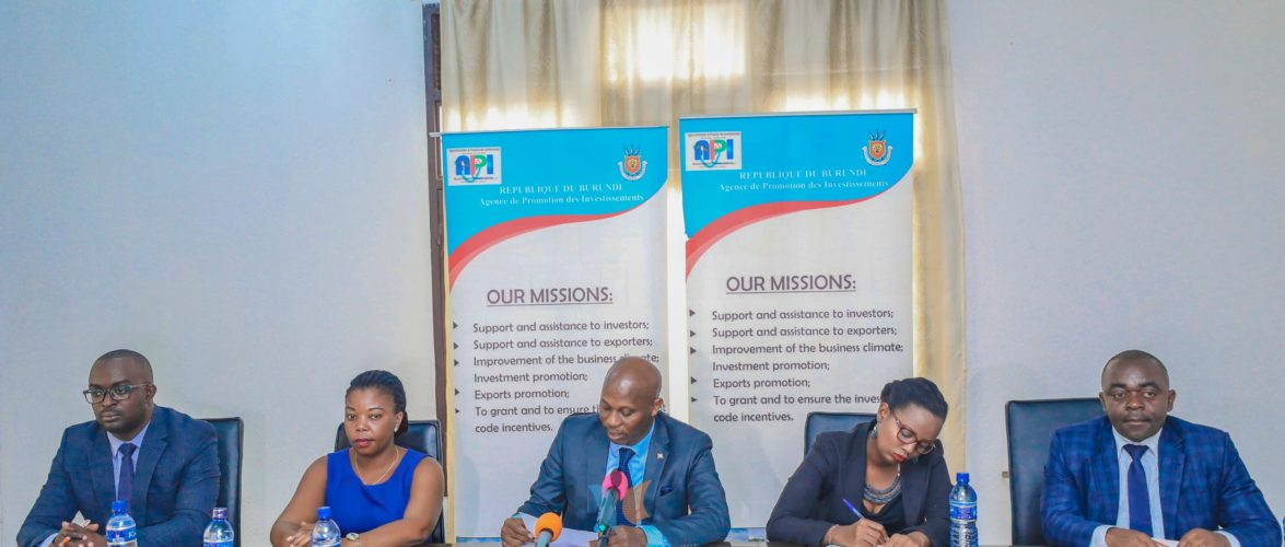 Burundi : API – 13.635 sociétés créées depuis la création du Guichet Unique en 2013