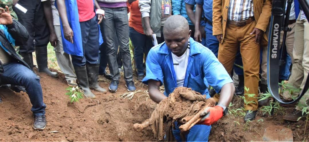 Burundi :  Genocide 1972 – A Karusi  le CVR exhume 7.000 corps près de la Ruvubu