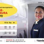 Burundi / Ouganda  : Uganda Airlines ouvre sa ligne ENTEBBE - BUJUMBURA