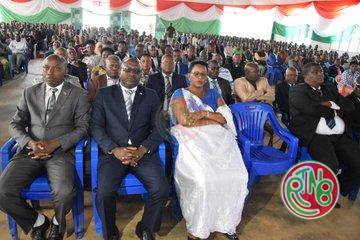 Ruyigi : Le Président de la République anime une séance de moralisation