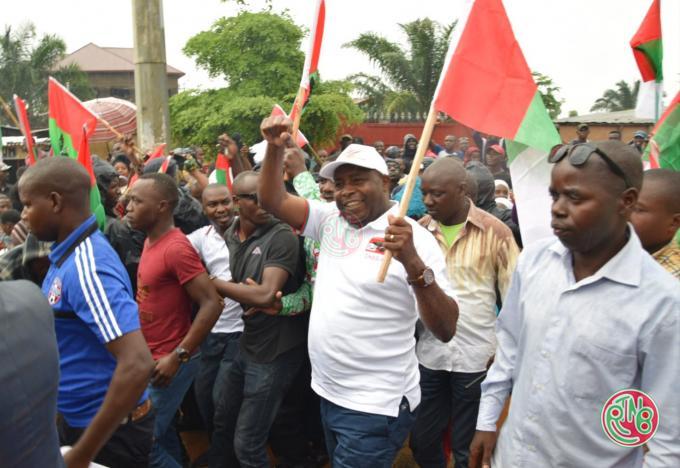 Accueil triomphal du candidat du parti CNDD-FDD aux présidentielles de 2020