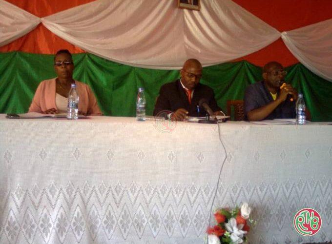 Muramvya: le CNS réunit les comités mixtes de sécurité des communes Rutegama et Mbuye