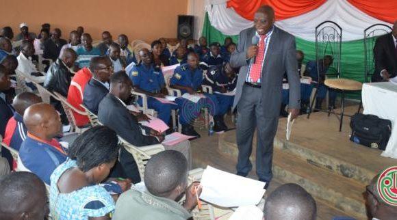 Bururi: le CNS réunit les comités mixtes de sécurité des communes Matana, Mugamba et Songa