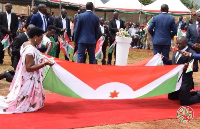 Gitega: Clôture de la prière d'action de grâce organisée par la famille présidentiel