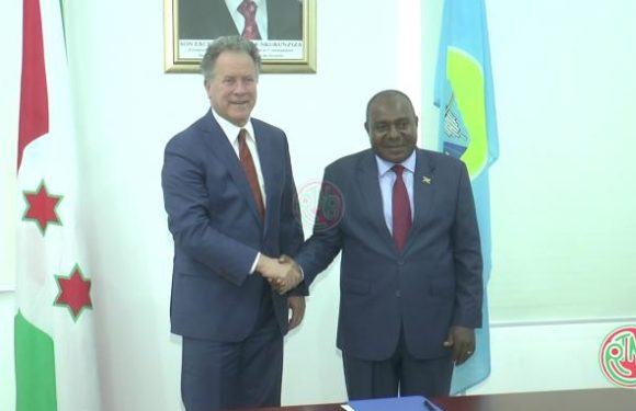 Le 2ème Vice-Président de la République reçoit en audience le Directeur Exécutif du PAM