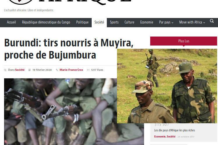 Burundi : Le Scénario Gbagbo lancé  – La Belgique veut créer une rébellion avec le CNL et le Rwanda