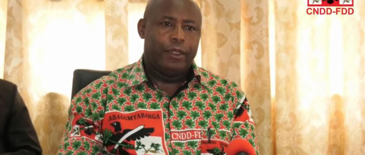 Présidentielles 2020 :  Conférence de presse du Gen. Maj. NDAYISHIMIYE Evariste, suite au dépôt de son dossier à la CENI / Burundi