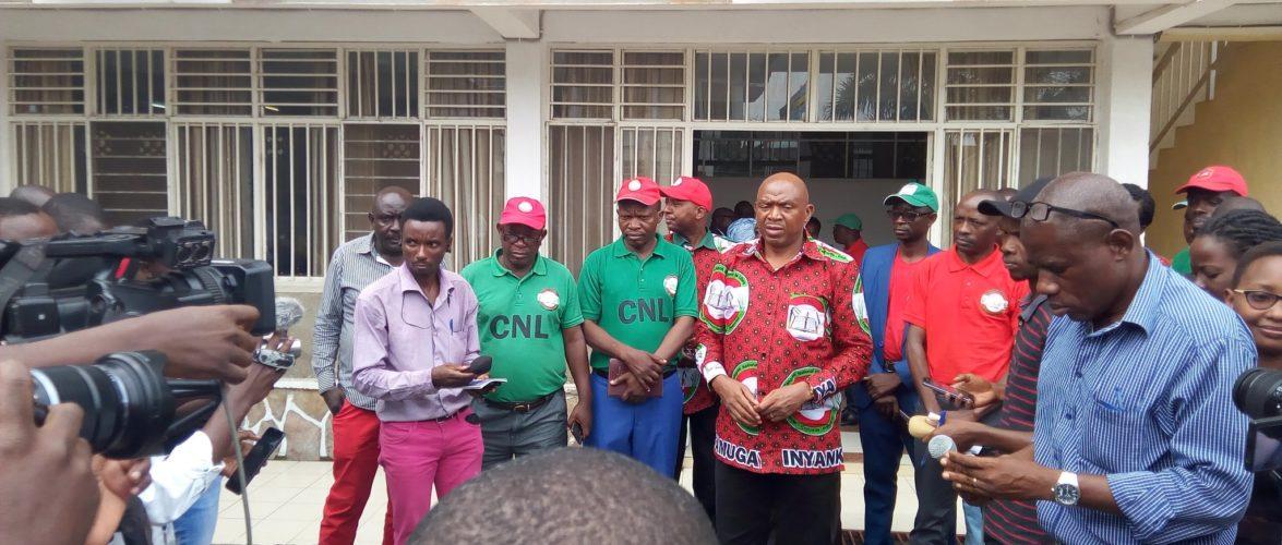 Présidentielles 2020 : RWASA, CNL / Burundi , a déposé son dossier à la CENI