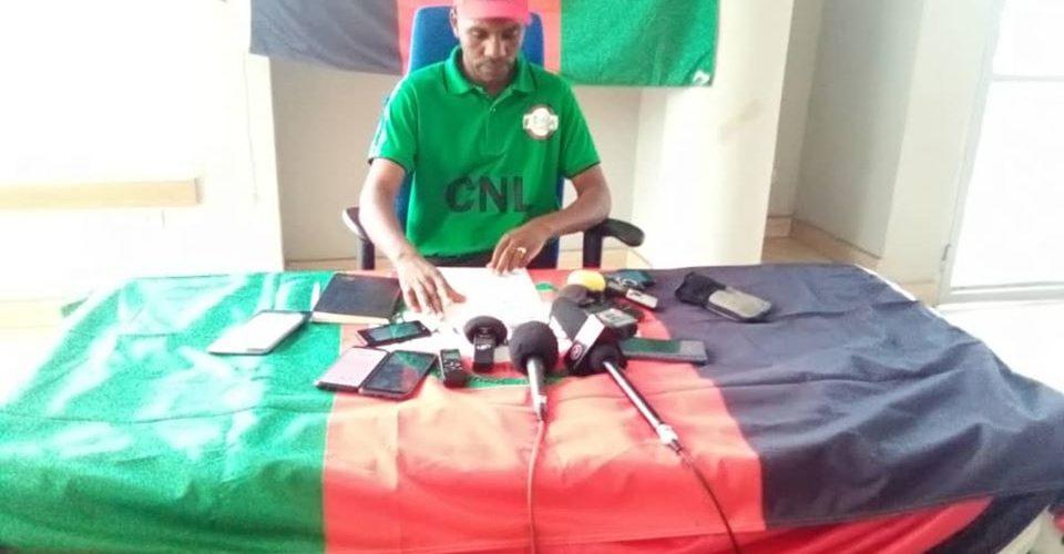 Elections 2020 : Le CNL / Burundi  poursuit son parcours terroriste, anti-patriotique