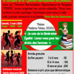 Burundi / Diaspora - Agenda : FBDB vous invite à la Journée internationale des femmes - Samedi 7/03/2020 - Rue Eloy 80, 1070 Bruxelles - 19h