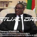Excellent ! Amb. NTAHIRAJA Thérence raconte le Burundi  à JamboNews, media Panafricain en Belgique