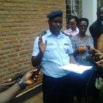 La Police Nationale du Burundi  met fin à une poursuite de criminels armées en province Bujumbura