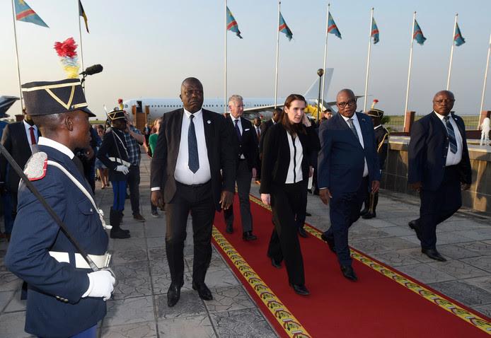 La Première ministre belge Sophie Wilmès à Kinshasa pour resserrer les liens avec le Congo