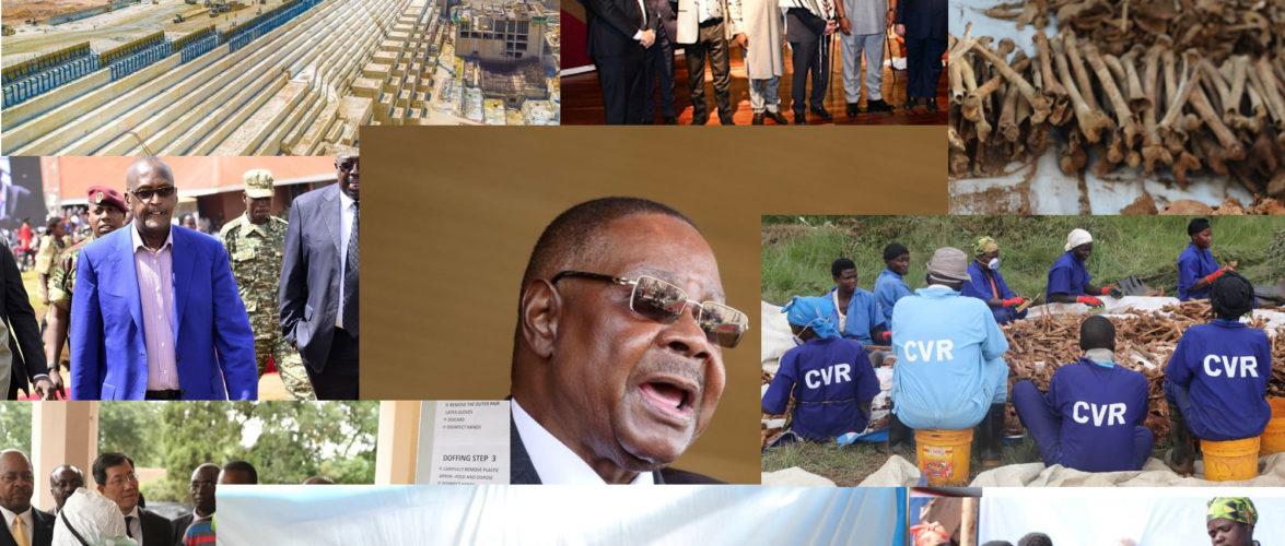 Burundi / Petit tour sur l'actualité Africaine –  [  BURUNDI /  GENOCIDE 1972 : CVR –  Total de 1.751 restes de corps sortis des 4 fosses de MASHITSI, à GIHETA  –  GITEGA  |   Arrivée du Coronavius en Afrique  |  Tentative d'assassinat raté du 1er Ministre du SOUDAN | Embattled MALAWI President Dissolves Cabinet … ]