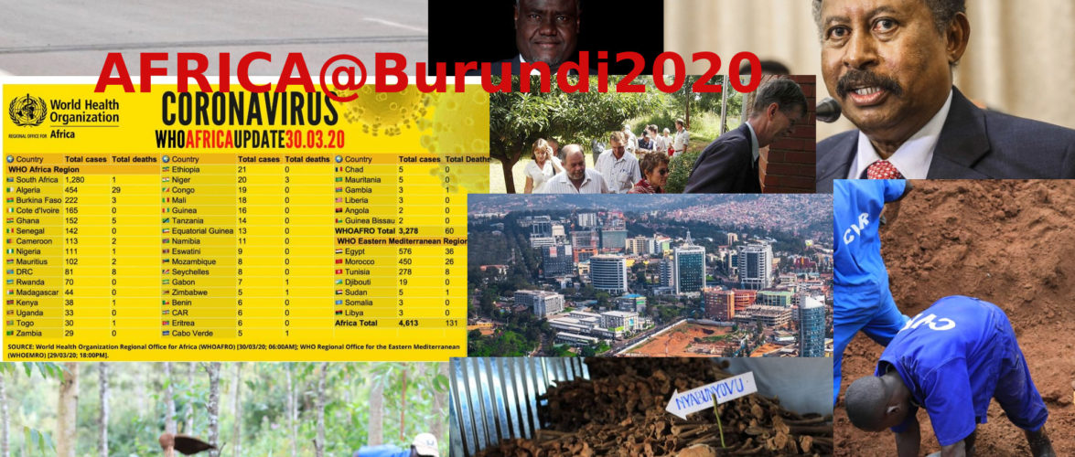 Burundi / Petit tour sur l'actualité Africaine –  [   Génocide 1972  au Burundi – La CVR  750 restes de corps excavés à GITEGA | L'OMS confirme qu'il n'y a pas de pandémie COVID-19 au Burundi | How global economic recession will affect Rwanda |   Zimbabwe's white farmers angered by 'racist' edict…   ]