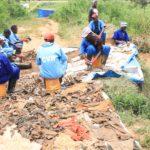 GENOCIDE 1972 :  Le Site de  NYABUNYOVU - 750 restes de corps excavés,  GIHETA, GITEGA / BURUNDI