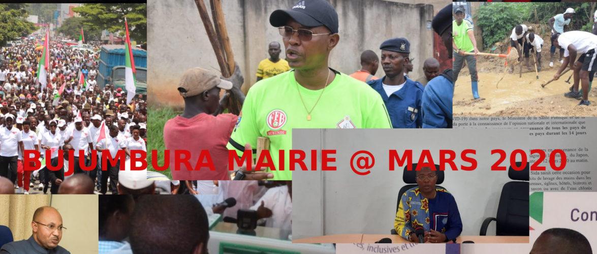 Burundi : Les dernières nouvelles de chez moi à BUJUMBURA MAIRIE