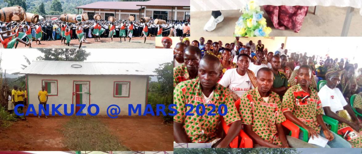Burundi : Quelles sont les dernières nouvelles de chez moi à CANKUZO ?