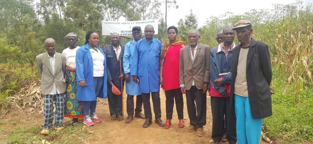 Génocide 1972  au Burundi  /  CVR  : 8 fosses communes , 7.348 corps retrouvés, Ruvubu