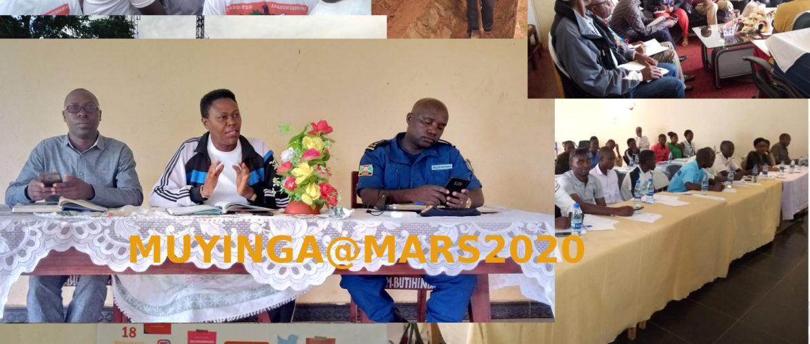 Burundi :Quelles sont les dernières nouvelles de chez moi à MUYINGA