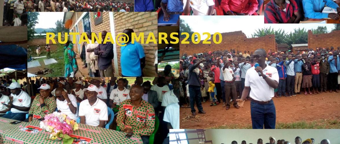 Burundi :Quelles sont les dernières nouvelles de chez moi à RUTANA