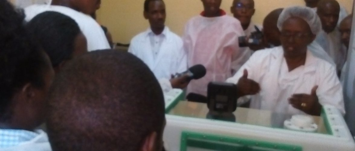 COVID-19 : Visites de l'INSP et de la Clinique Prince de Rwagasore / Burundi
