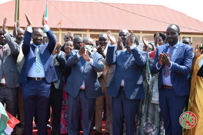 Cankuzo : inauguration du Campus Buhumuza