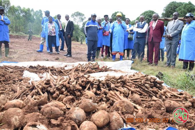 Gitega: le 1er Vice-Président de la République encourage la CVR dans ses travaux