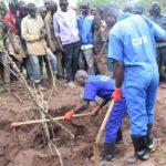 CVR/Giheta : exhumation des fosses du troisième site à Manyovu