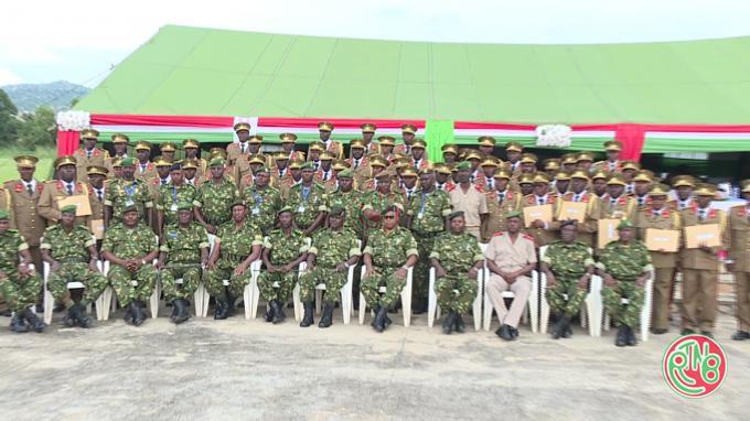 La FDNB doit être une armée professionnelle, disciplinée et loyaliste (Gén.MaJ. J. Ndayishimiye)