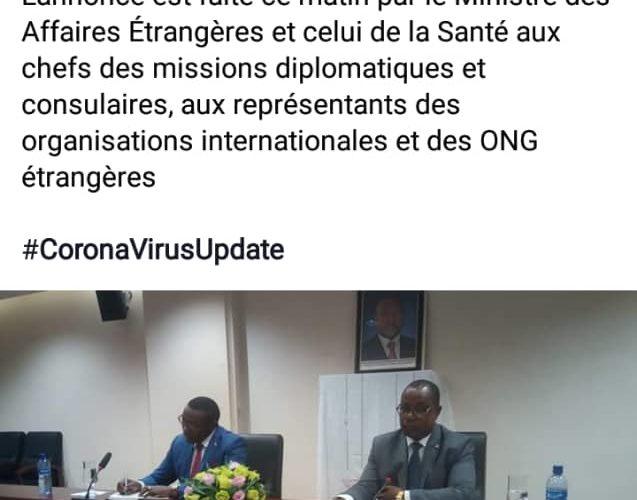 L'Ambassade du Burundi à Bruxelles: suspension de la délivrance des visas.