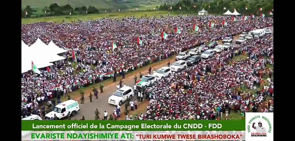 Lancement officiel de la campagne électorale du Parti CNDD-FDD