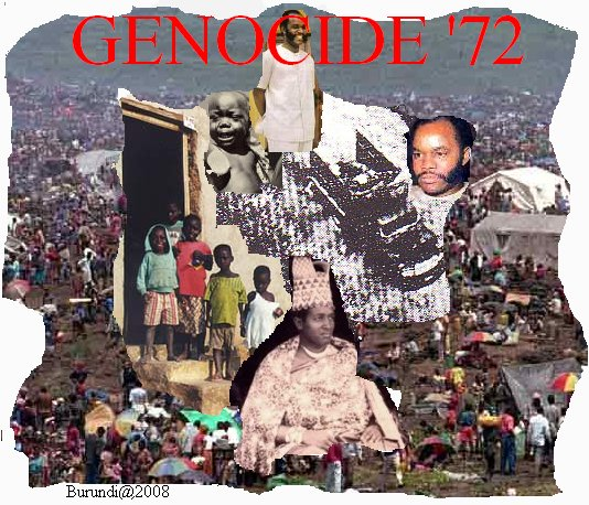 Commémoration du Génocide contre les Bahutu Barundi en 1972 à KARUSI / Burundi