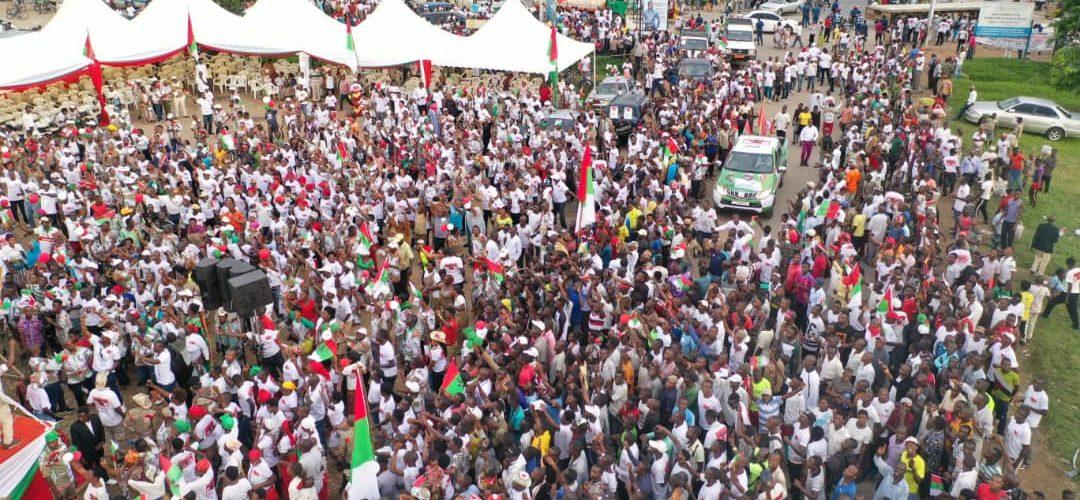 Campagne / Elections2020 – 2ème jour : Le CNDD-FDD BUJUMBURA-MAIRIE en commune NTAHANGWA – Burundi