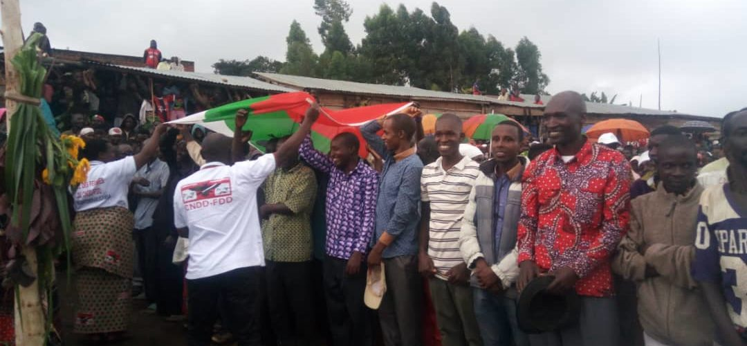 Le CNDD-FDD GITANGA accueille 90 nouveaux militants, RUTANA / Burundi