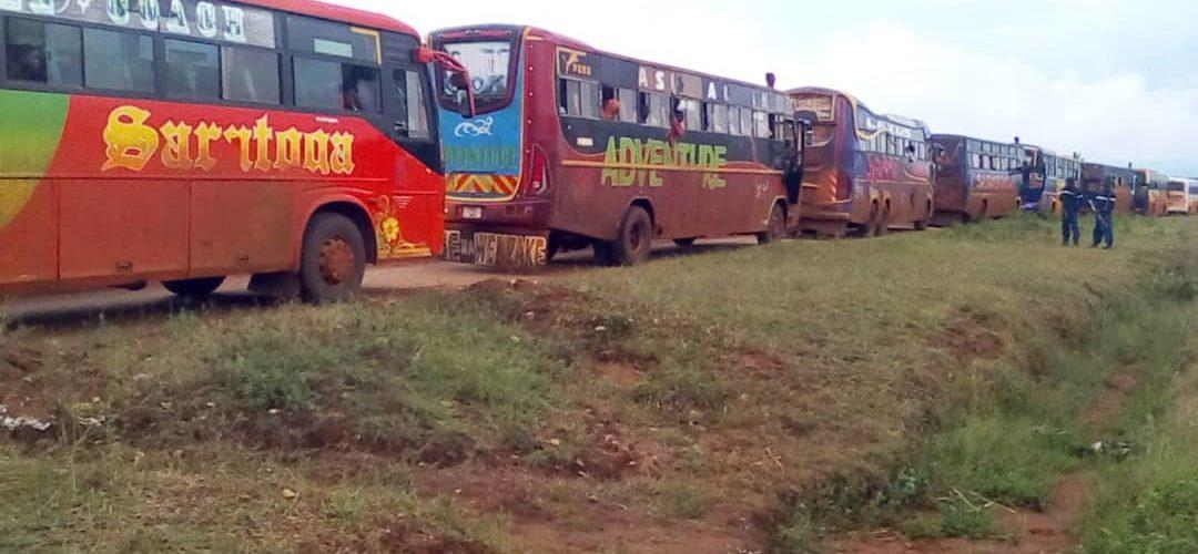 717 rapatriés, ex-réfugiés de Tanzanie, arrivés à MAKAMBA / Burundi
